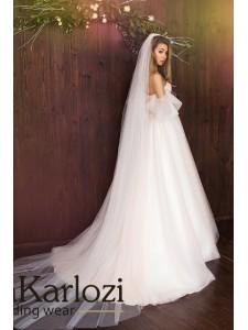 Daria Karlozi 2017 модель DK 08049 Slim Edelweiss