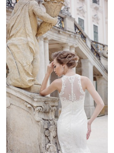 Платье свадебное коллекция Оксения 2015 модель Астория