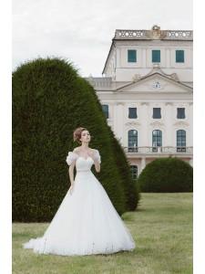 Платье свадебное коллекция Оксения 2015 модель Декаданс