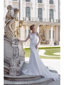 Платье свадебное коллекция Оксения 2015 модель Монро