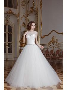 Платье свадебное коллекция Оксения 2015 модель Пудра 1
