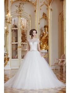 Платье свадебное коллекция Оксения 2015 модель Пудра 2