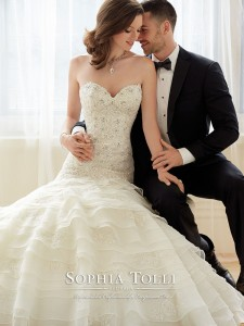 Sophia Tolli 2016 модель Y11628