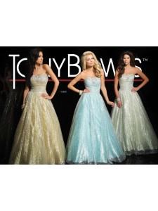 платье вечернее TONY BOWLS модель 114500