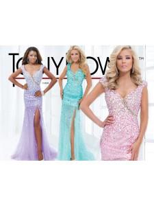 платье вечернее TONY BOWLS модель 114505