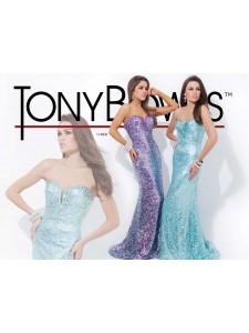 платье вечернее TONY BOWLS модель 114506
